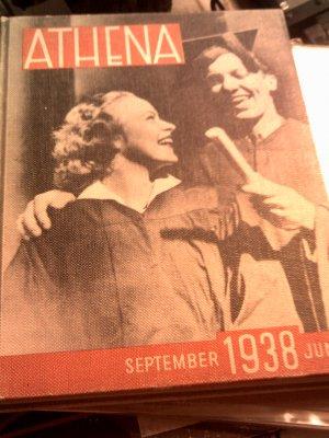 1938 Ohio University Yearbook Athens OH