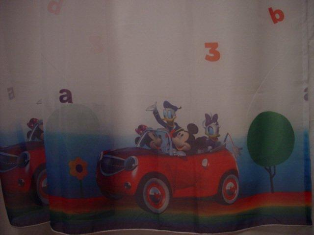 Disney/Pixar Cars the Movie Sheer Curtain