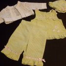 BABY GIRL OUTFIT 4 PIECES 12MONTH
