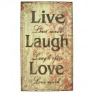 Wall Decor Live Laugh Love