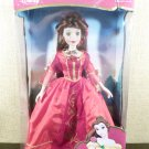 "DISNEY BELLE PORCELAIN KEEPSAKE 17"" DOLL HOLIDAY JEWELS EDITION"