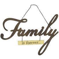 FAMILY METAL WALL ART 18.5X16.5