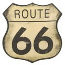 ROUTE 66 TIN SIGN, WALL DECOR, HOME DECOR