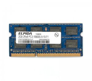 SODIMM PC3 2GB PC3-1066 DDR3 1333MHz SDRAM Small Outline Dual In-Line Memory Module