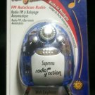 Suprema Radio Action FM AutoScan Radio with Built-in Penlight - Includes Earbuds