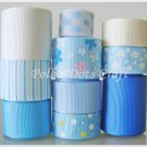 20 Yards Spring/ Garden Ribbons, Blue, Pink & White Butterfly, Daisy, Head Bands, Pony Tails, S2