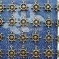 24 pcs Antique Helm Charms, Vintage Bronze Pendant Bracelet Sailor Navy Wheel, O36