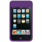 Amzer Rubberized Snap-On Crystal Hard Case for iPod touch 2G, 3G (Purple)