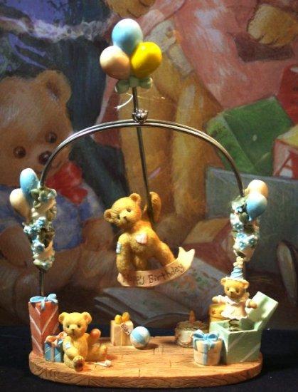 "Cherished Teddies ""Happy Birthday"" Pendulum"