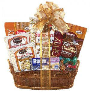 Sugar Free Sweets-N-Treats Gift Basket