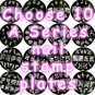 Choose 10 A series Nail Stamp Plates