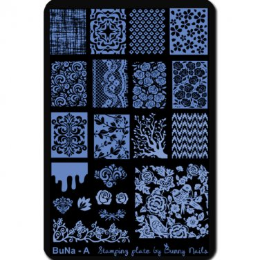 BuNa - A Nail Art Stamp Plate
