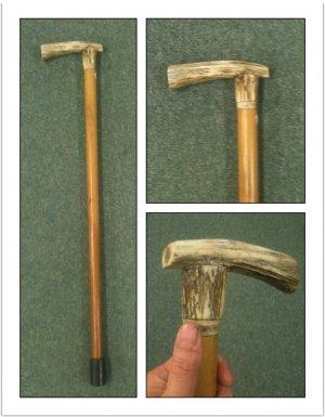 Bone Handled walking Stick