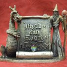 Tudor Mint WAPW pewter myth and magic figure -Magical Encounter 3551(8cm tall)