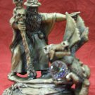 ENGLISH TUDOR MINT MYTH & MAGIC COLLECTION PEWTER FIGURE: BANISHING THE DRAGON