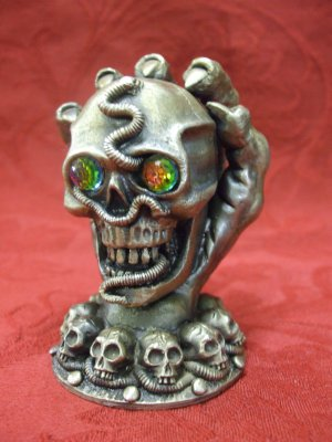 Tudor Mint Myth and Magic - The Keeper Of The Skulls (12cm Tall)