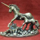 Tudor Mint Myth and Magic - The Unicorns Of Freedom (7cm Tall)