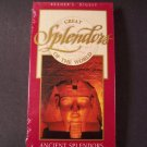Reader's Digest Great Ancient Splendors of the World VHS Video-New Still Sealed