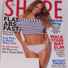 Shape Magazine Mariah Carey on Cover May 2012 - Flat Abs Fast, Instant Energy