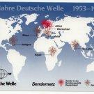 QSL 1983 Radio DEUTSCHE WELLE Germany - Sweden Shop