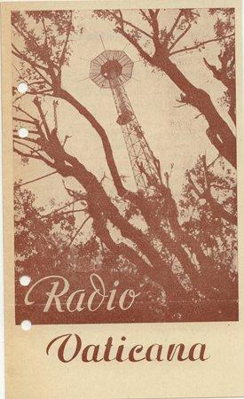 QSL 1940s Programme Schedule Radio Vaticana - Sweden Shop