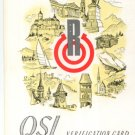 1961 QSL Radio OEI 47 - Austria signed - Sweden Shop