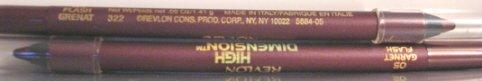 10 - Revlon High Dimension Eyeliner - 05 Flash Garnet.