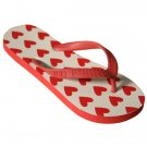 IDI By Matthew Flip Flops Heart Pattern Print