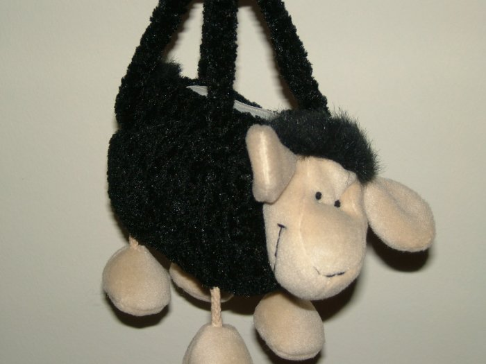 Cow soft toy designed handbag