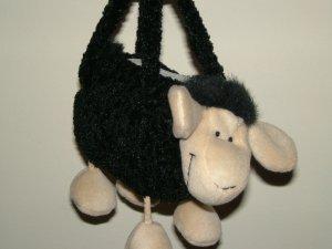Cow soft toy designed handbag