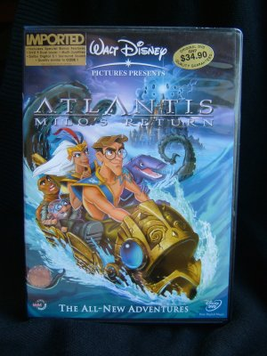 Walt Disney's Atlantis: Milo's Return (DVD)