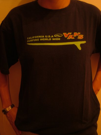 Van's T-shirt (SIZE M, Boys/Mens)