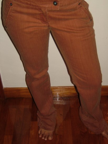 Mango Brown Skinny pants/Jeans (SIZE 10 / Euro 38, Ladies, Teens)