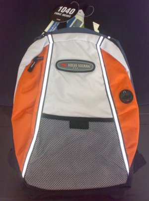 High Sierra Backpack (Orange)
