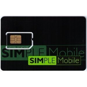 Simple Mobile Unlimited Prepaid Sim Card