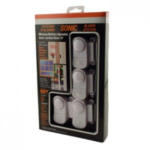 showcase Mini Alarm and Chime LOT OF 4 Pack