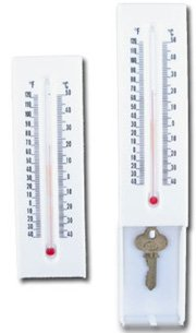Thermometer Key Hider - key hidden compartment