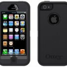 iPhone 5 Otterbox Defender Case Black with Clip HOLSTER