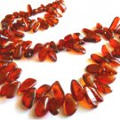 Baltic Amber Long Cognac Necklace 24.5 inch