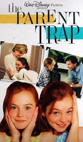 The Parent Trap Walt Disney Movie Starring Lindsay Lohan Video VHS