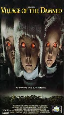 Village Of The Damned Movie Video Christopher Reeve Kirstie Alley