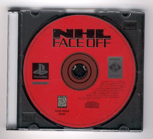 NHL Face Off Sony Playstation 1 & 2 Hockey Video Game