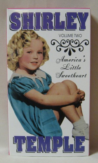 Shirley Temple Volume Two America's Little Sweetheart Video VHS