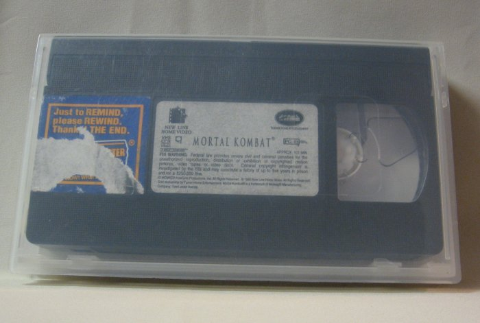 Mortal Kombat Movie Video 1995
