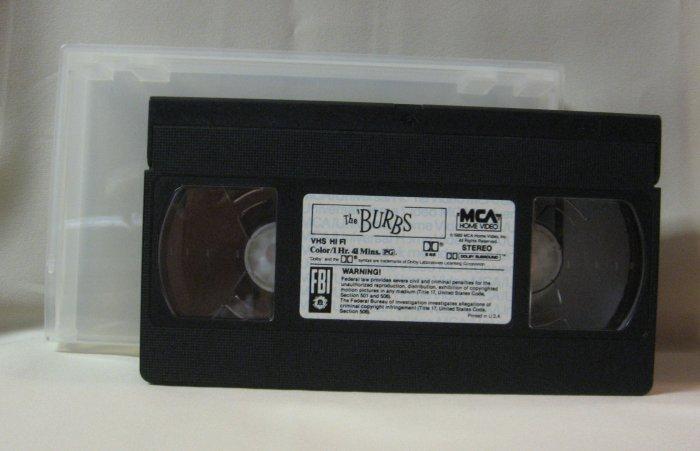 The Burbs Movie Video Tom Hanks Mystery Comedy
