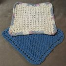 Potholders Hotpads Vintage Crocheted Handmade