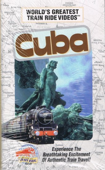 World's Greatest Train Ride Videos Cuba VHS Video