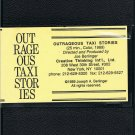 Outrageous Taxi Stories Video VHS