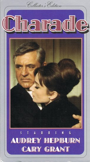 Charade Collector's Edition Video Cary Grant Audrey Hepburn Movie