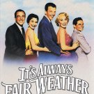It's Always Fair Weather Movie Gene Kelly Cyd Charisse Delores Gray Video